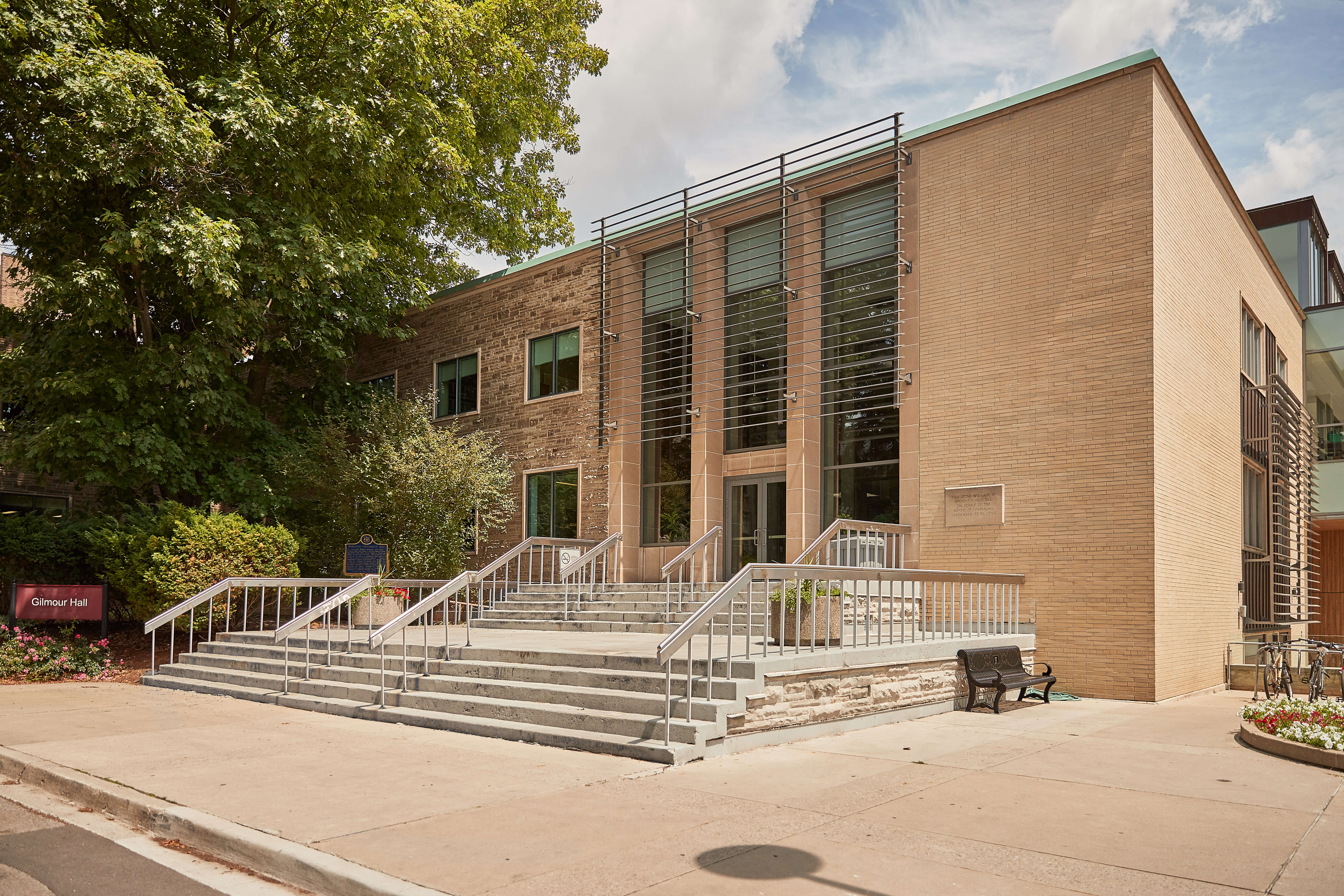 Image of Gilmour Hall, McMaster University