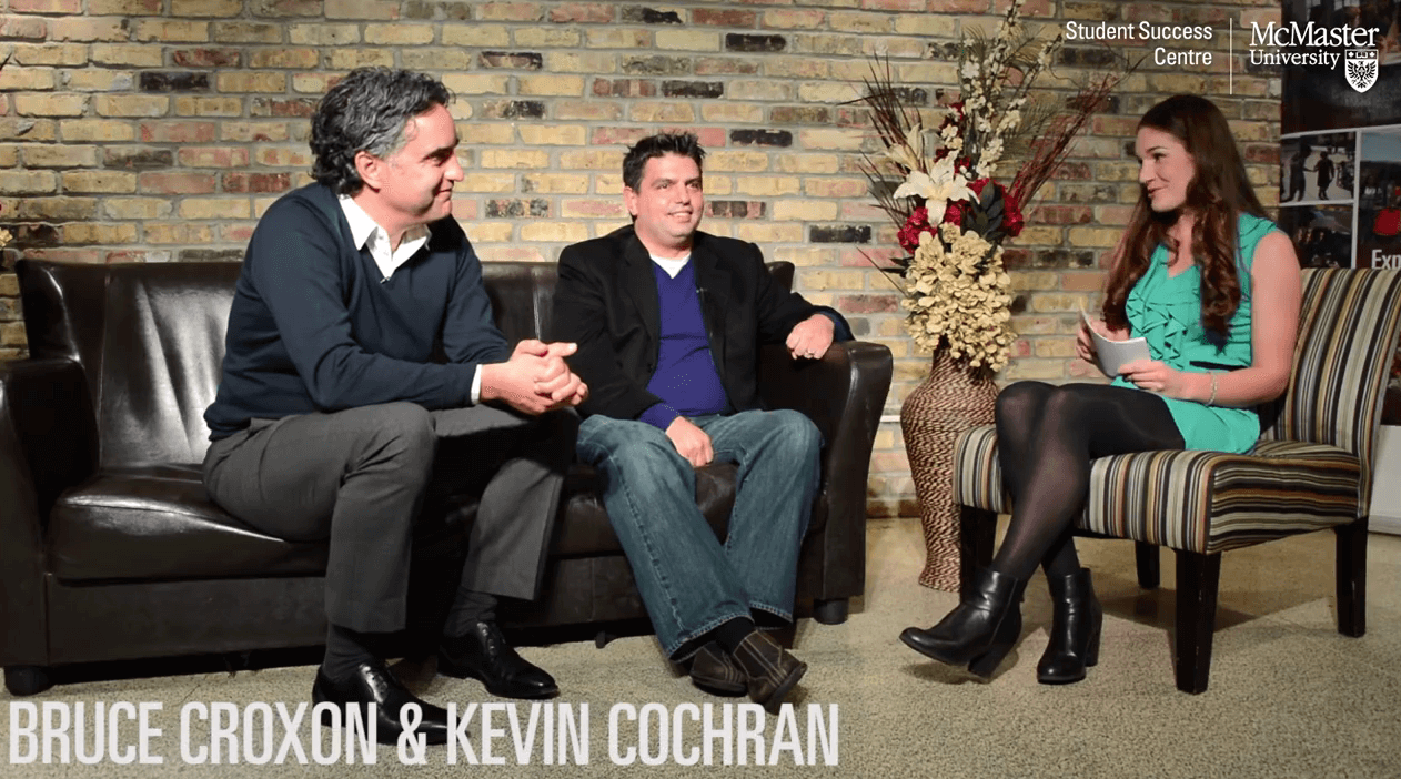 Thumbnail image of couch interview of Bruce Croxon and Kevin Cochran