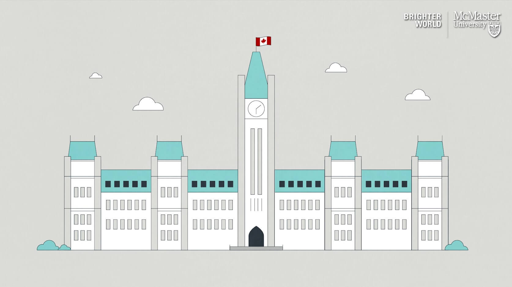 Image contains vector of Parliament Building