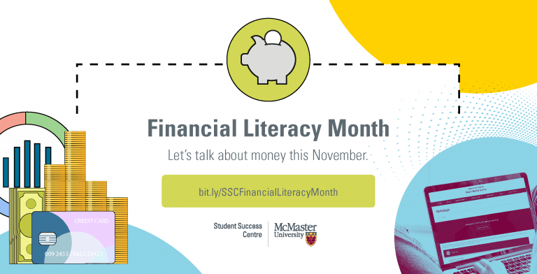 Financial Literacy Month graphic 2020